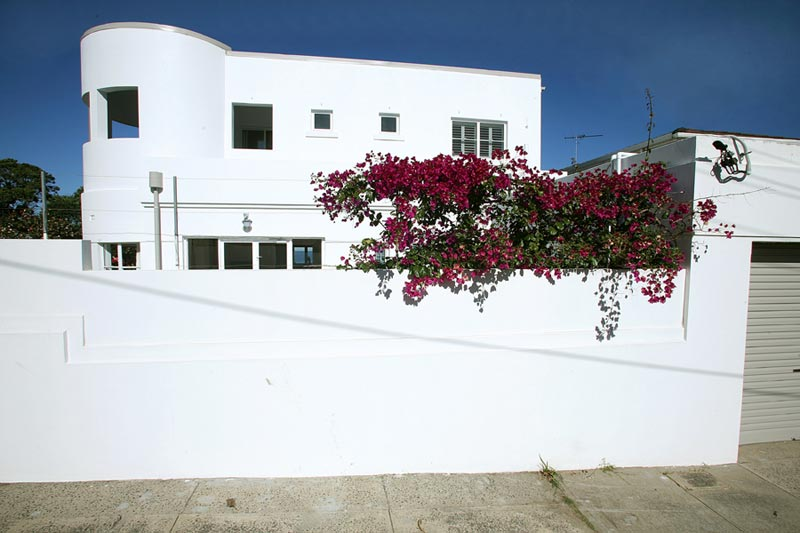 Art deco house Dover Heights - street view