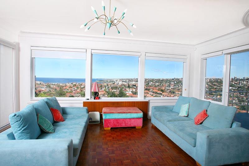 Art deco house Dover Heights - sun room