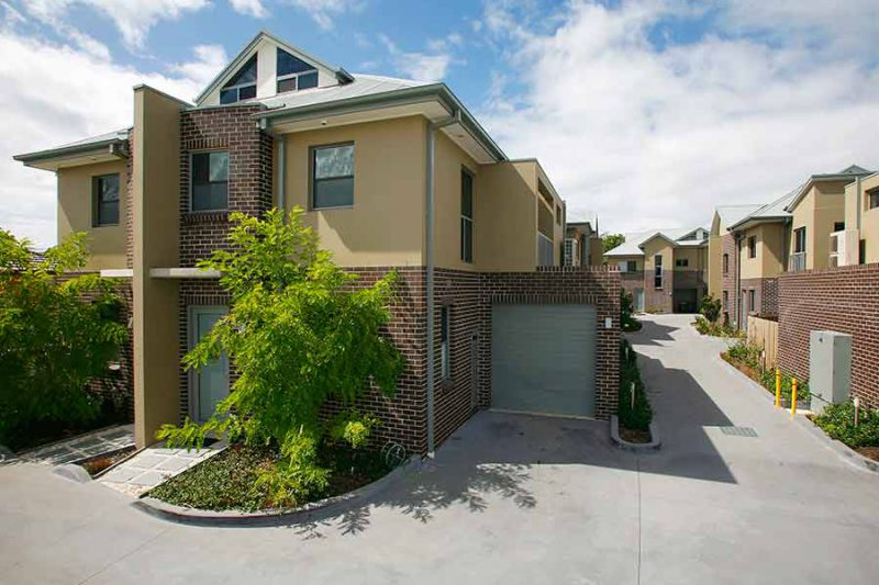 Bayside townhouses Monterey - 2 bedroom east townhouse