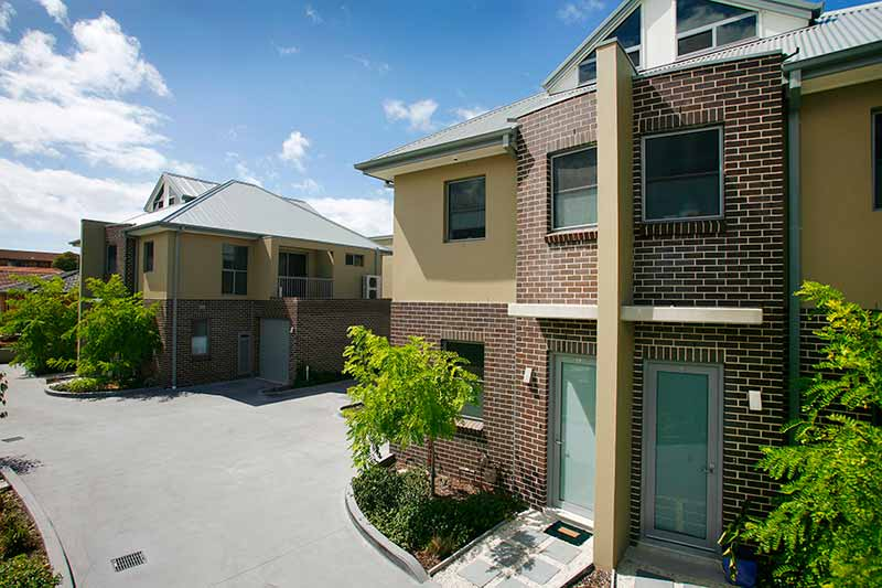 Bayside townhouses Monterey - 2 bedroom west townhouse