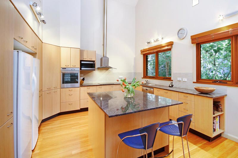 Large home with subtle street presence Killara - kitchen