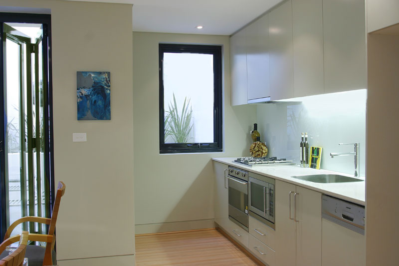 Large Paddington terrace unit transformation - kitchen