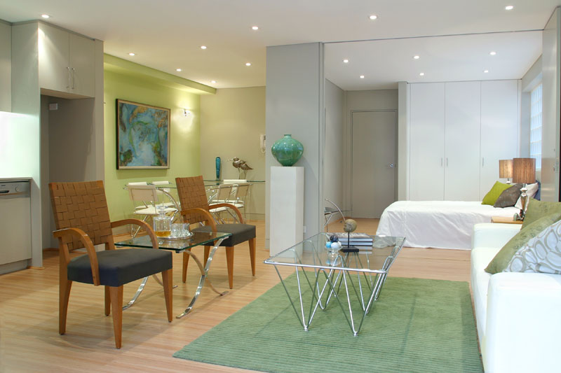 Large Paddington terrace unit transformation - living