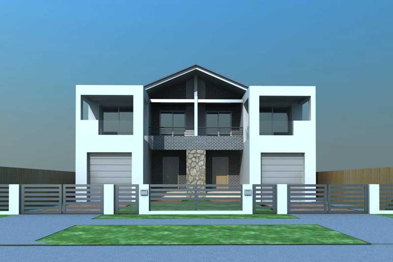 Large family duplex Canley Vale - front model