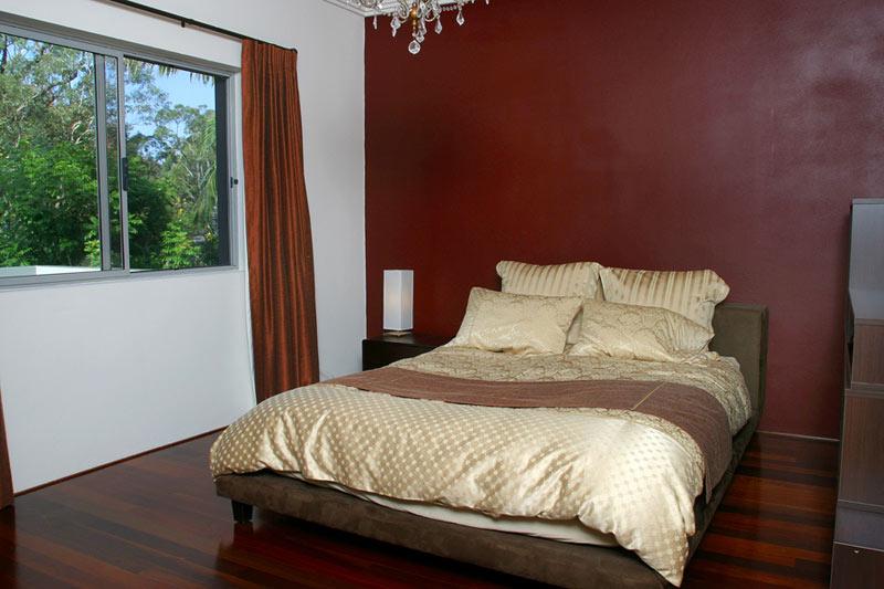 North Shore bush retreat - bedroom