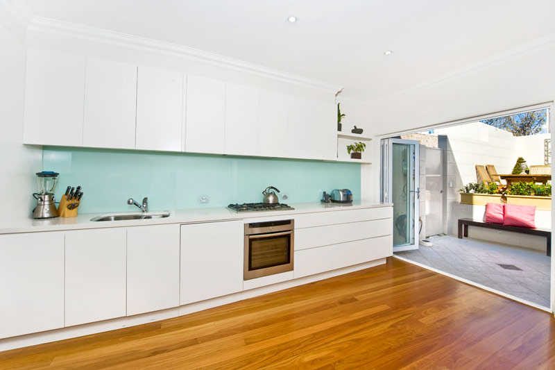 Opening up a Paddington terrace - kitchen