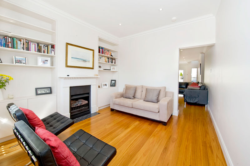 Opening up a Paddington terrace - living