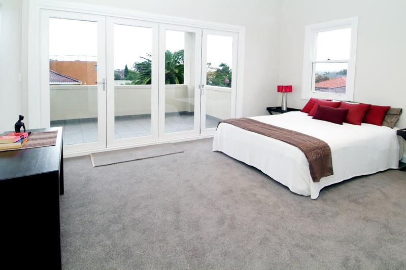 Park side house Maroubra - bedroom