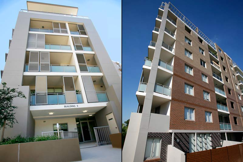 Rina apartment buildings Mascot - building 3
