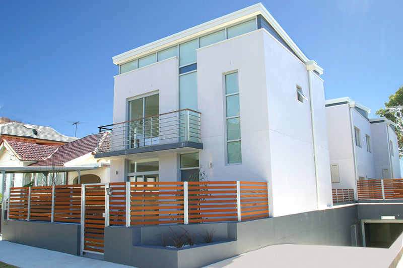Boutique townhouses Maroubra - entry