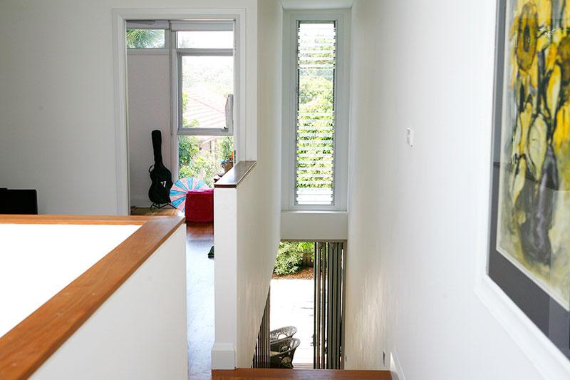 Skylit semi Maroubra - hallway