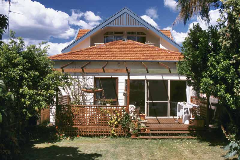 Attic conversion Kingsford bungalow - back