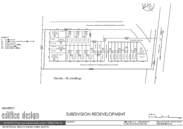 Leppington Austral Property Subdivision Services - Subdivision Feasibility - Subdivision - Concept Design