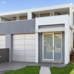 Duplex homes with swimming pool designed for the entertainer – Chifley - entry