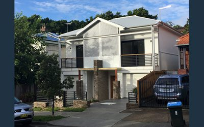 Bondi subtle duplex with hidden attic fits in with traditional streetscape with a modern interpretation – completed