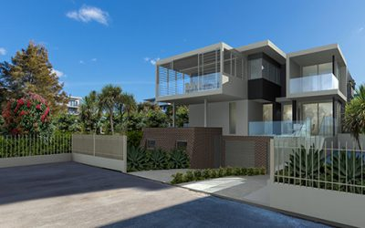 Bob-a-day Park Little Bay duplex in historical precinct – approved and under construction