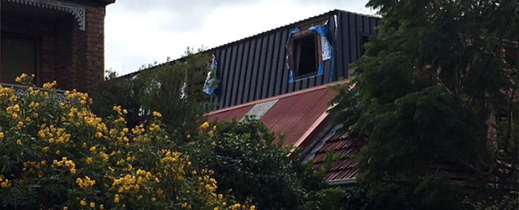 Bronte duplex with artist garage attic - garage attice - under construction