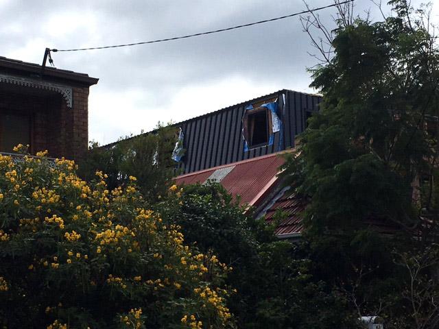 Bronte duplex with artist garage attic - garage attic - under construction