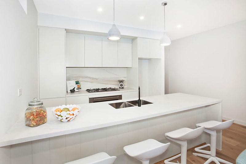Bondi subtle duplex - kitchen