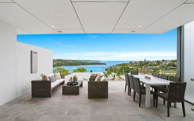Grand Sydney harbour waterview apartments Mosman completed