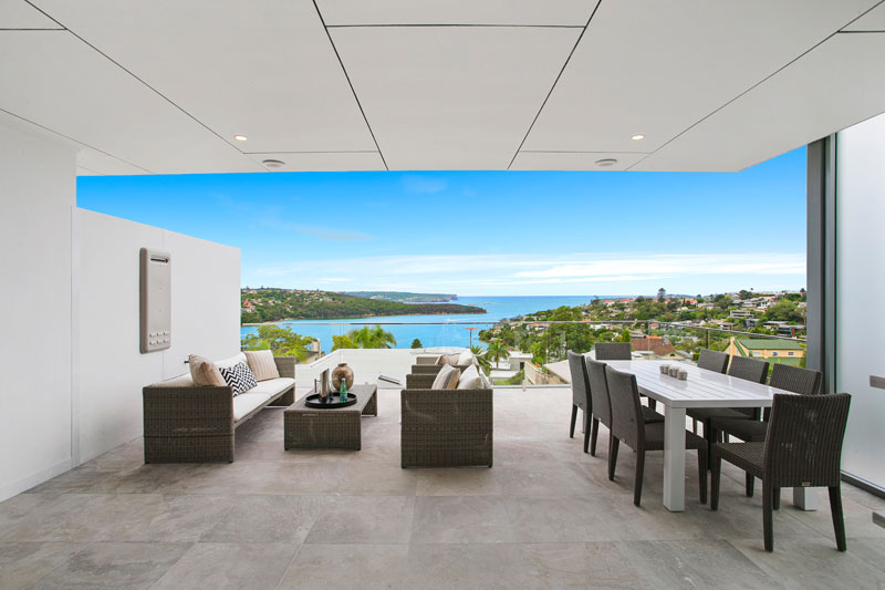 Grand waterview apartments Mosman - North Harbour North Head Middle Harbour view
