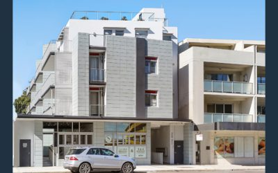 Arcadia apartments with retail at Maroubra – completed