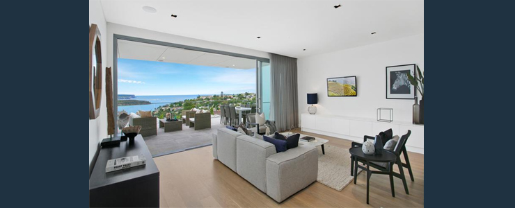Grand waterview apartments Mosman - North Harbour North Head Middle - Harbour view