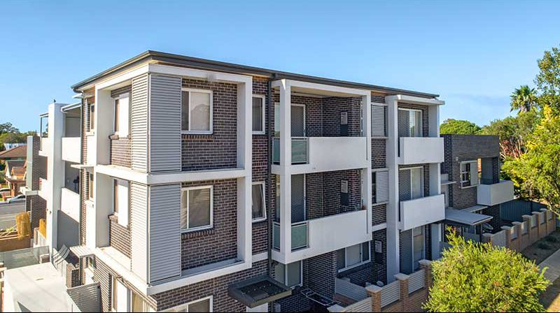Guildford contemporary apartments completed