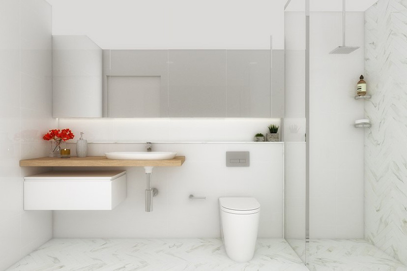 Coogee corner apartments - bathroom
