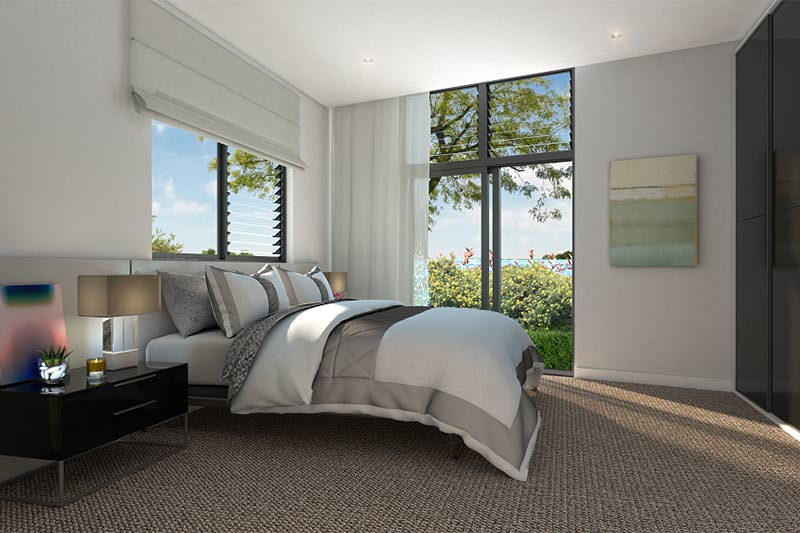Coogee corner apartments - bedroom