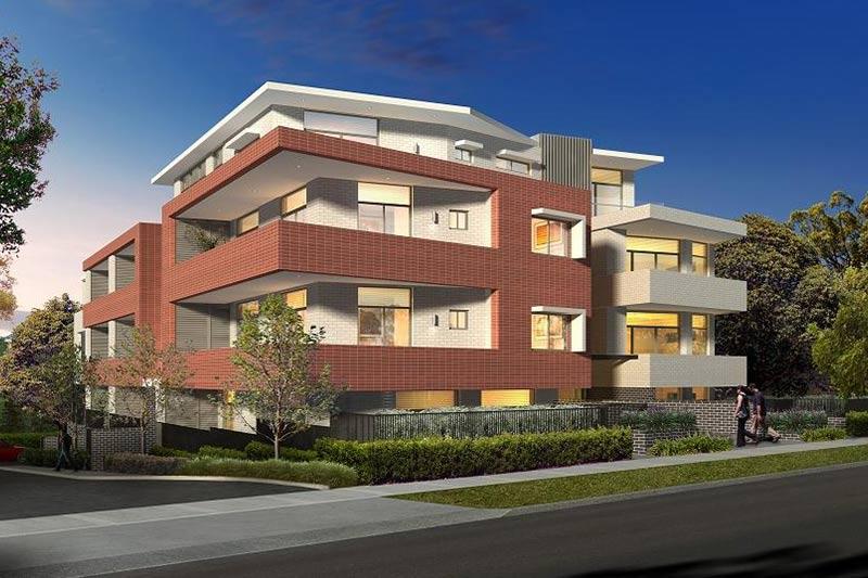 Coogee corner apartments - street view