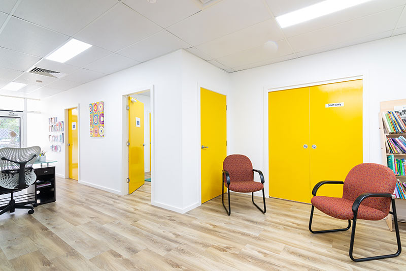 Maroubra community centre - reception to consulting rooms
