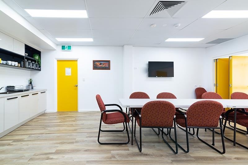 Maroubra community centre - communal room with dividing door