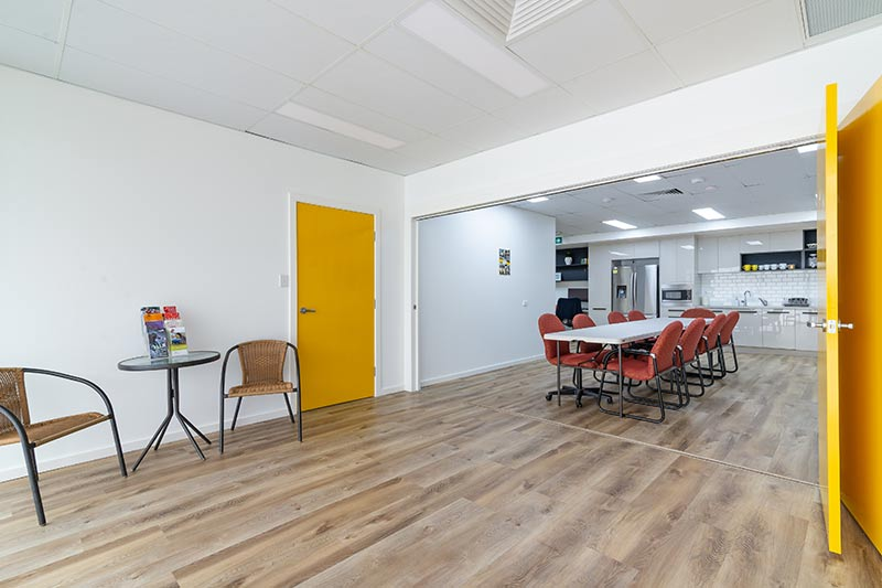 Maroubra community centre - flexible room with dividing door