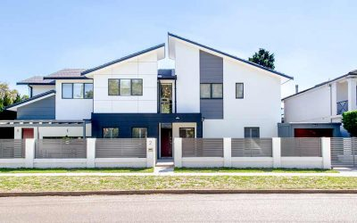 Maroubra rooftops – upper storey addition is completed