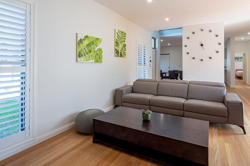Maroubra rooftops - living room