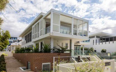 Bob-a-day Park Little Bay duplex in historical precinct completed