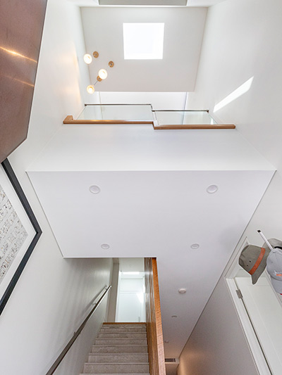 Little Bay duplex - voids and skylights