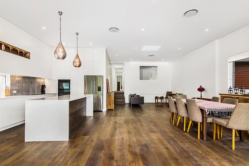 Chifley connections with garden and light - living