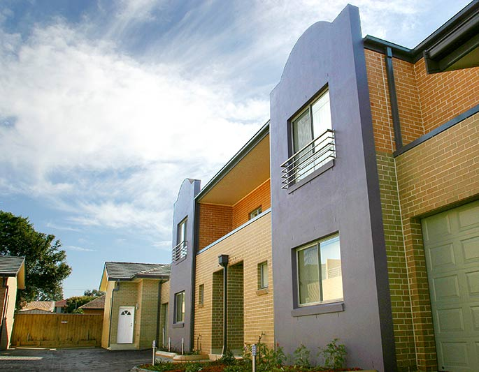 Fairfield family townhouses - townhouse