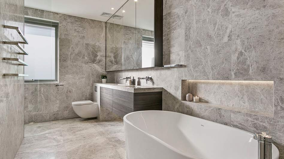 Grand waterview apartments Mosman - bathroom