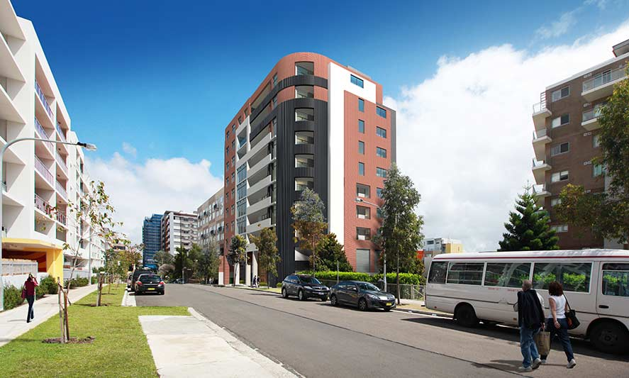Botany Council approves John Street Mascot contemporary apartments