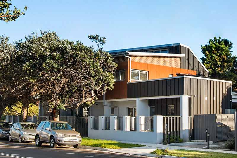 New generation boarding house Maroubra - rear