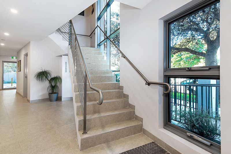 New generation boarding house Maroubra - stair