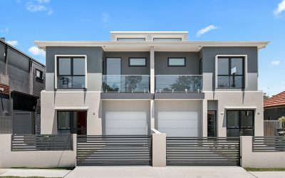 Maroubra duplex with northern lights is completed